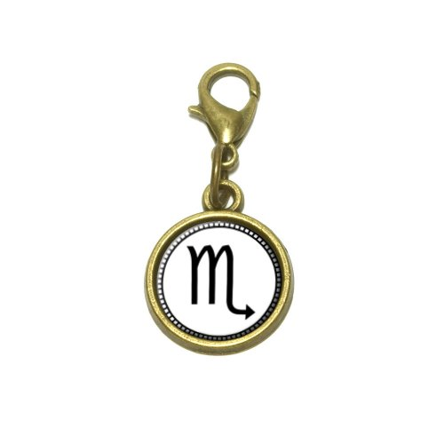 Zodiac Sign Scorpio Cute Bracelet Pendant (Italian Zodiac Sign Bracelet)