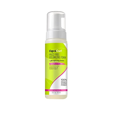 DevaCurl Frizz-Free Volumizing Texture Foam; 7.5 Ounce; 2-Pack