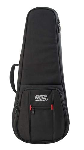 Gator Cases Pro Go Series Deluxe Gig Bag for Tenor Ukuleles or A/F Style Mandolin (G-PG-UKE-TEN)