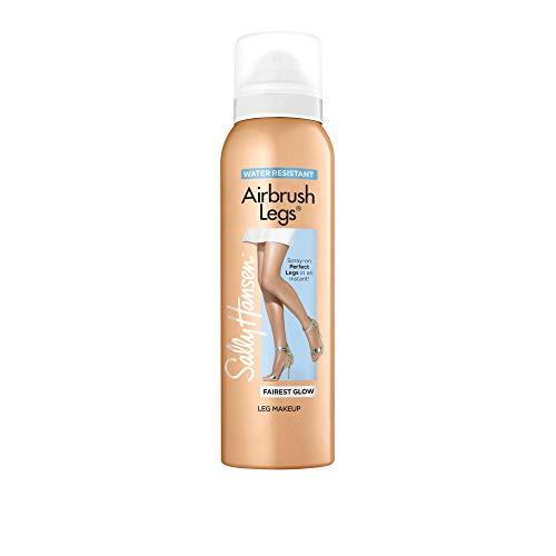 Flawless Bronzing Brush Gel - Sally Hansen Air Brush Legs Fairest Glow, 4.4 Oz, Pack Of 1