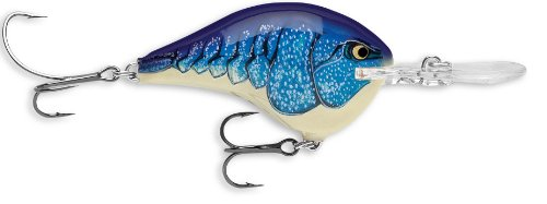Rapala Dives-To 10 Fishing lure, 2.25-Inch, Molting Blue Craw