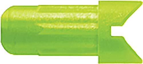 Easton Half Moon Nock 2216 Green 12pk ()