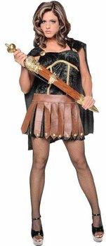 Amazon.com: Sexy disfraz de gladiador romano (Tamaño: Small ...