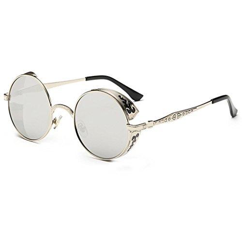 Gradiente Gafas verano Vintage Moda Winwintom 2018 Unisex aviador gafas Color de I Hombres ronda Mujeres de color de sol viajes qpIfpw6xtB