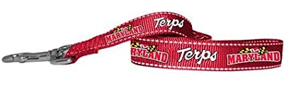 Pet Goods Manufacturing NCAA Maryland Terrapins Dog Lead Small