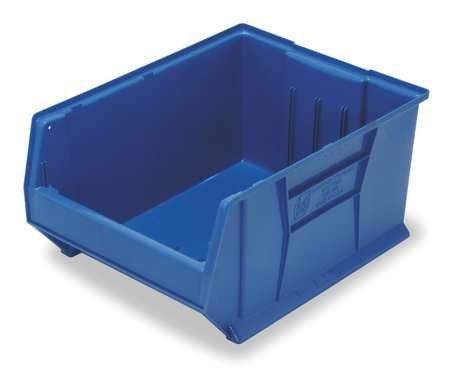Bin, 35-7/8 in. L, 23-7/8 in. W, Blue by Quantum Storage Systems
