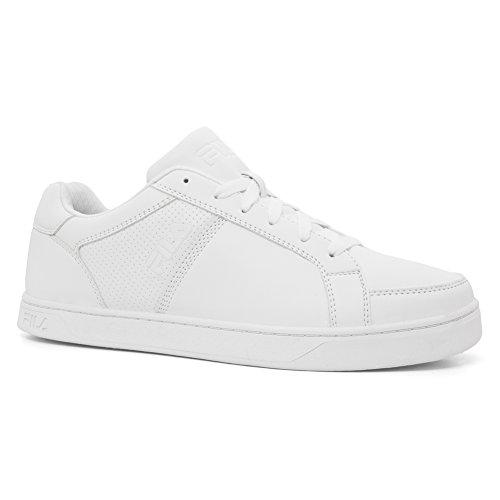 Fila Men's Keysport Walking-Shoes, White/White/White, 7.5 D US