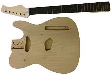 Guitarra Eléctrica DIY Kit Coban Guitars Cuerpo de Aliso para ...