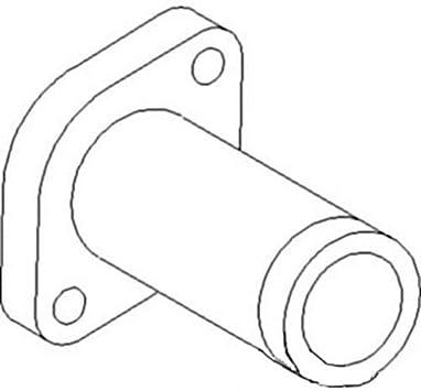 INTERNATIONAL B275 B414 276 434 TRACTOR EXHAUST MANIFOLD ELBOW /& GASKET