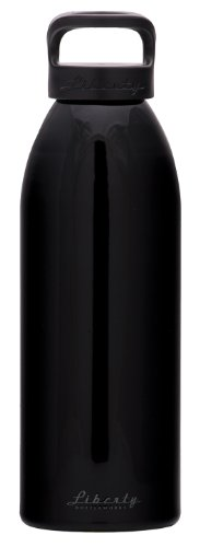 Liberty Bottleworks Special Ops Aluminum Water Bottle, Made in USA, 32oz, Night, Standard Cap ()