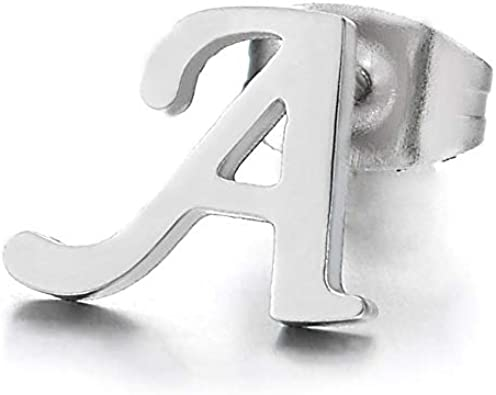 Stainless Steel Polished Music Note Post Earrings 9.3mm x 9.8mm