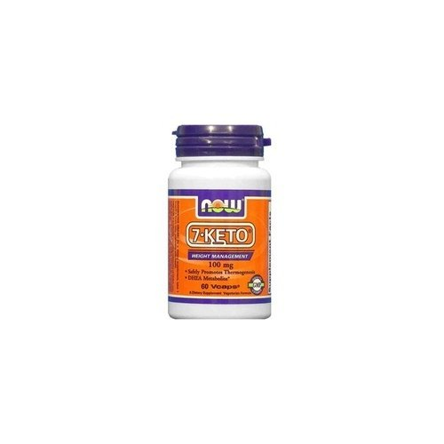 NOW Foods 7-Keto 100mg, 180 VEGGIE CAPS by Now Foods