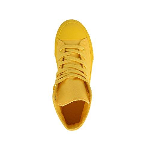Gelb Femme Pour Baskets Colour One Elara tUwqgBg