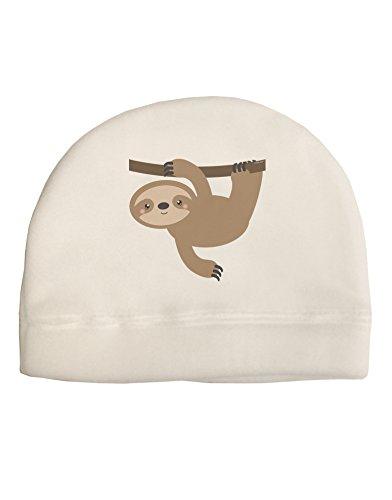 Tooloud Cute Hanging Sloth Child Fleece Beanie Cap Hat -