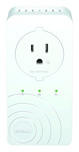 D-Link Powerline AV 500 3-Port Switch Kit with Passthrough
