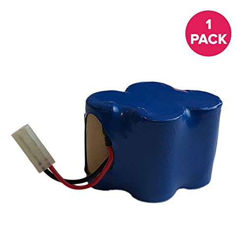 Think Crucial Replacement for Shark 4.8V 3000mAh Battery Fits V1700Z, V1930 Cordless Sweeper, Compatible with Part # X1725QN, Long Lasting & ()