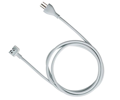 Techno Earth Power Adapter Extension Cord Wall Cord Cable Compatible for Mac iBook MacBook Pro MacBook Power Adapters 45W, 60W, ()