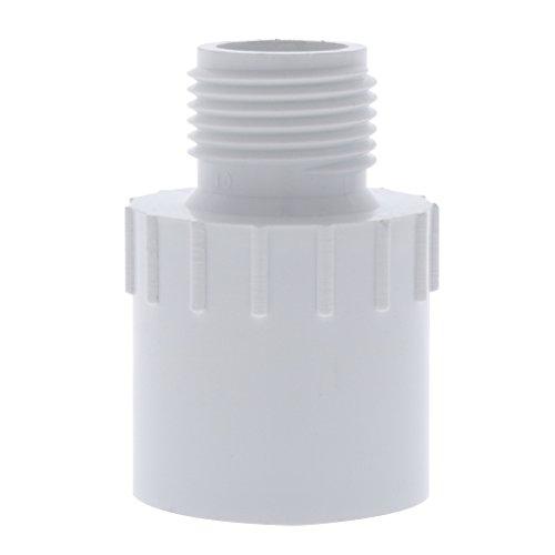 Drip Depot Schedule 40 PVC MHT x Slip Adapter - MHT Size : 3/4