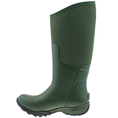 5 Essential 78583 Ladies Olive uk Wellies 303 Boot 6 Solid 40 Warm Insulated Tall Bogs eu gO5qfU5