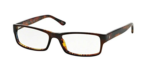 Polo Men's PH2065 Eyeglasses Top Brown/Havana 54mm (Polo Ralph Lauren Brown Frame)