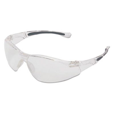 UVEX by Honeywell A800 Series Safety Eyewear Clear Lens with Anti-Scratch Hardcoat