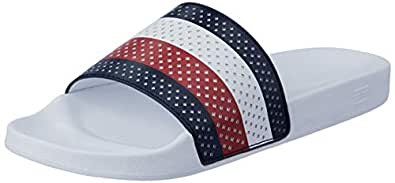 Tommy Hilfiger Slide-Sandals For Men - Classic White (46 EU)