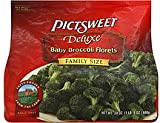 PICTSWEET FROZEN VEGETABLES BABY BROCCOLI FLORETS DELUXE FAMILY SIZE 24 OZ PACK OF 3
