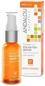 Andalou Naturals Turmeric + C Enlighten Serum, 1.1 Ounce