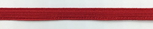 Trimplace Bright Red 1/4 Inch Middy Braid - 24 Yards