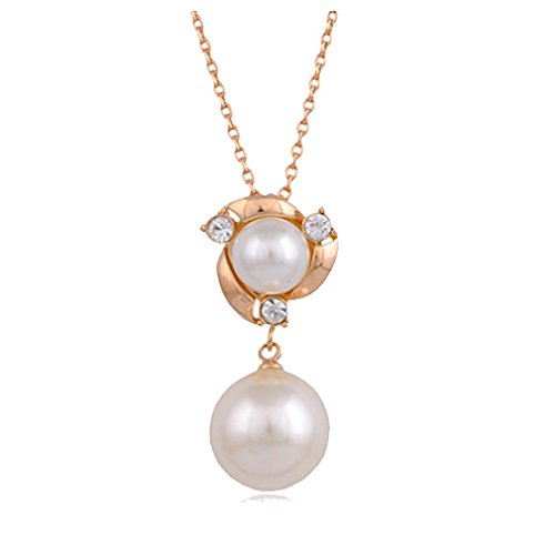 Necklace Braid Phiten - My.Monkey Fashion High-Grade Contracted Small Pearl Girl Collarbone Chain