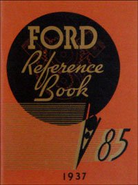 1937 Ford Car V-8 Owners Manual 37 (with Decal) PDF