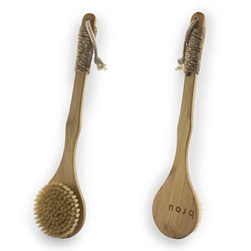 Vove | Premium-Körperbürste | Badebürste | Cellulite | Trocken/Bad | Naturborsten | Bambus | Umweltfreundlich…