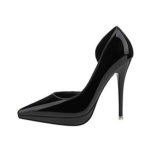 228 36 Noir 5 Femme 55 Noir 5 Escarpins EU Renly 5qwRY0x