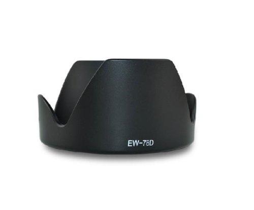 - Dengpin Lens Hood EW-78D for Canon EF-S 18-200mm f/3.5-5.6 IS