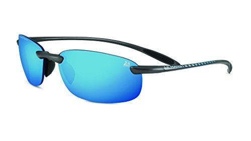 Serengeti Nuvola 24 Hour Le Mans Safety Glasses, Satin Dark Gun/Polarized ()