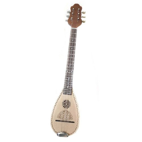 Baglama Greek Traditional Instrument Handmade Small Bouzouki Byzantinos Style by Handmade