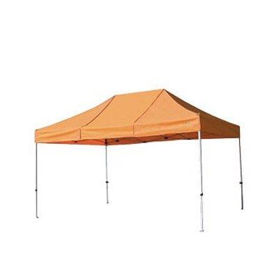 さくらコーポレーション かんたんテント KA/7WA 3.0m×4.5m (オールアルミフレーム) B01M13EZBM オレンジ オレンジ