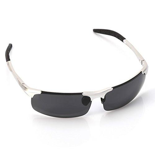 hombre pesca 012 1 Logres aire de libre conducción par para gafas sol deportes al para de Plata gafas CaRcx