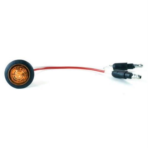 Grote 49323 Yellow MicroNova Dot LED Clearance Marker Light (Grommet)