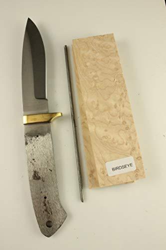 8.5 inch Drop Point Knife Kits - Payne BROS - Knife Making (Birdseye Maple)