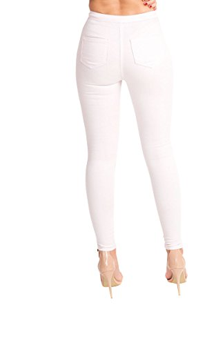 Womens Skinny Lilac Elle Jeans Ikrush Dchirs Zxwd6cPU