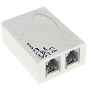 Classytek Adsl Internet Phone Filter Splitter Broadband Modem Box