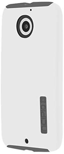 Motorola Moto X (2nd Gen) Case, Incipio [Shock Absorbing] DualPro Case for Motorola Moto X (2nd Gen)-White/Gray
