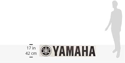 Factory Effex 06-94212 White 1 Die-Cut Sticker Yamaha