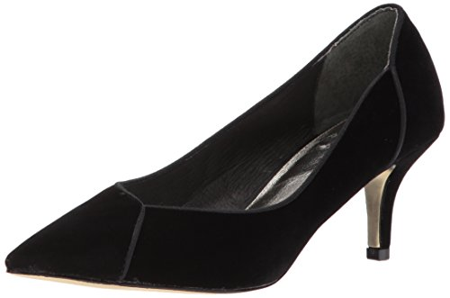 Adrianna Papell Women's Havana Pump Black Velvet 8.5 Medium US