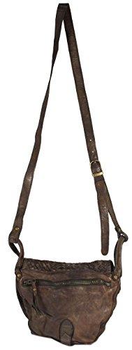 Rodhschild - Bolso cruzados para mujer Marrón beige camel verde oliva