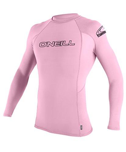 O'Neill Wetsuits UV Sun Protection Youth Basic Skins Long Sleeve Crew Sun Shirt Rash Guard