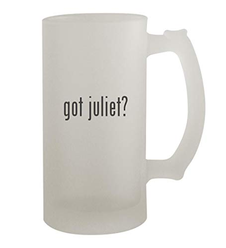got juliet? - 16oz Frosted Beer Mug Stein, Frosted (Gnomeo And Juliet Ii)