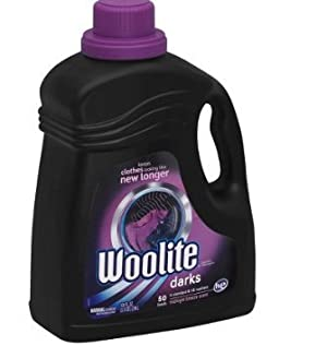 Woolite Darks Laundry Detergent for HE and Regular Machines, 100 Ounce (pack of 3)