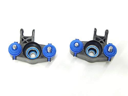 Summit Revo 3.3 BRUSHLESS E-REVO Front / Rear Steering Knuckles Axle Carriers w/ Bearings -